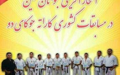قهرمانی جوانان فینی در دهمین دوره مسابقات کشوری کاراته + فیلم