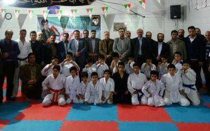 گزارش تصویری افتتاح باشگاه رزمی آینده سازان فین