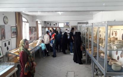 به علت مرمت؛ نمایشگاه آثار مکشوفه محوطه باستانی سیلک قابل بازدید نمی باشد
