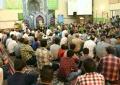 گزارش تصویری اختتامیه مراسم محافل نور در محلات کاشان در مسجد جامع فین
