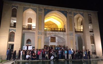 در روز جهانی عکاسی؛ دومین سالانه عکس شهرستان کاشان در باغ فین برگزار شد