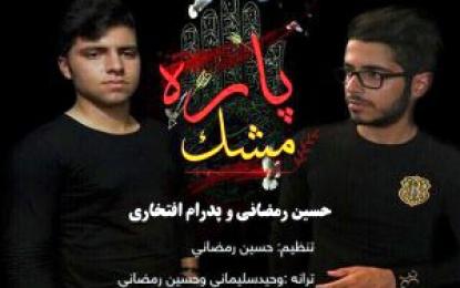 مشک پاره کاری از حسین رمضانی خواننده جوان فینی
