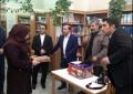 تقدیر از مسئولین کتابخانه علی ابن امام محمد باقر (ع)