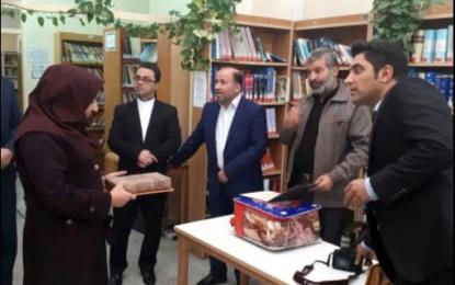 به مناسبت هفته کتاب؛ تقدیر از مسئولین کتابخانه علی ابن امام محمد باقر (ع)