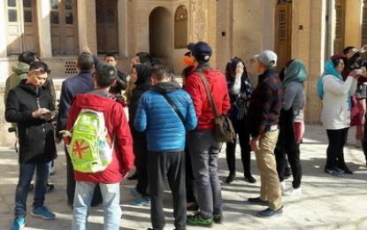 هیات 30 نفره ویتنام از آثار تاریخی کاشان دیدن کردند