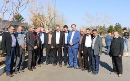 آیین تکریم مدیر امور اداری منطقه چهار شهرداری کاشان برگزار شد